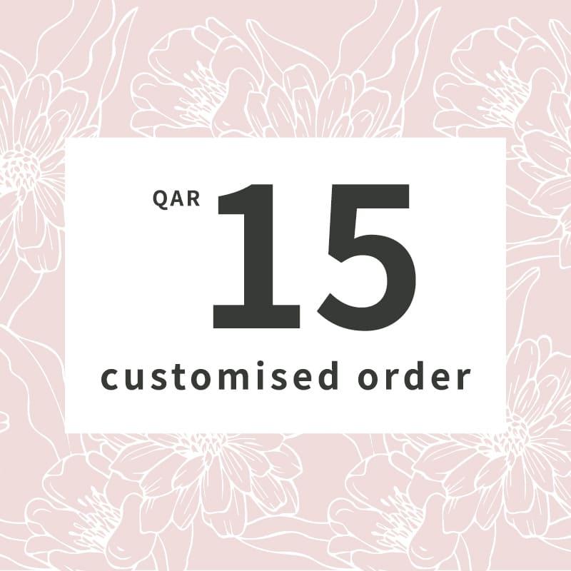 Customised orders 15