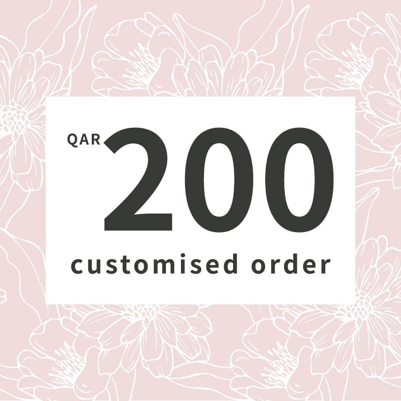 Customised orders 200