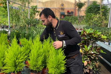 Plaza Hollandi Garden Centre staff