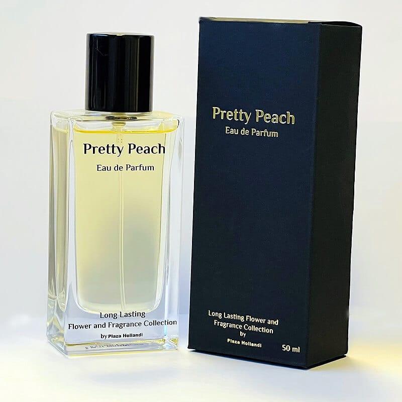 Pretty peach perfume