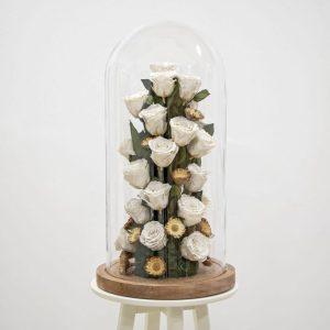 White rose amor design