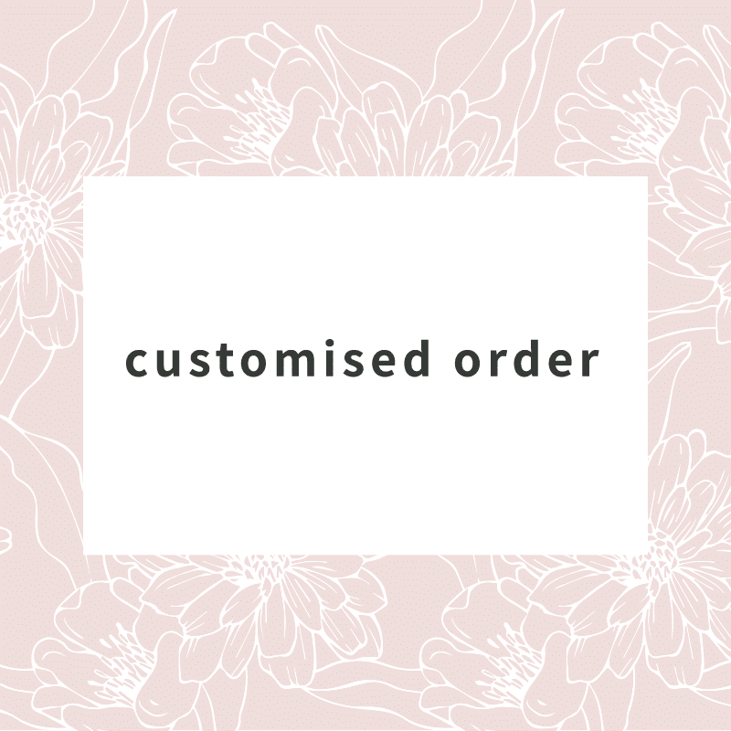 customised order flowers