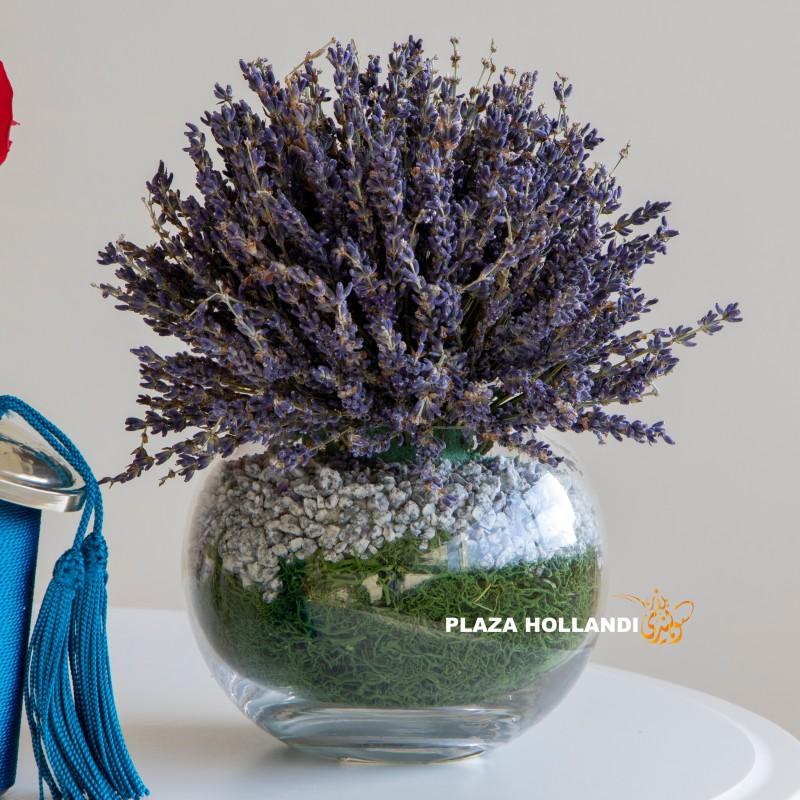 Lavender in a vase