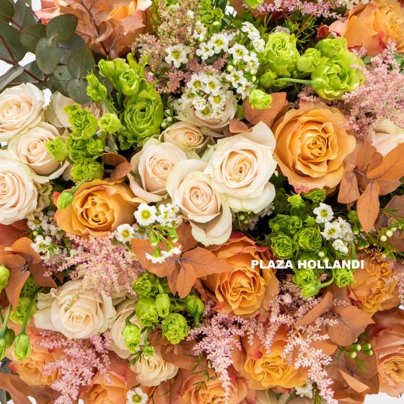 Mandarin Bouquet, luxury gift close up