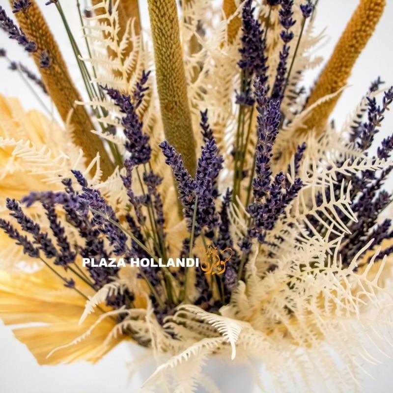 Dried lavender closeup