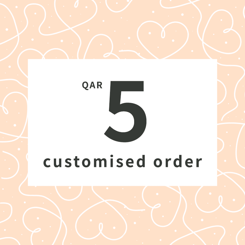 Customised order QAR 5 luxurious gifts
