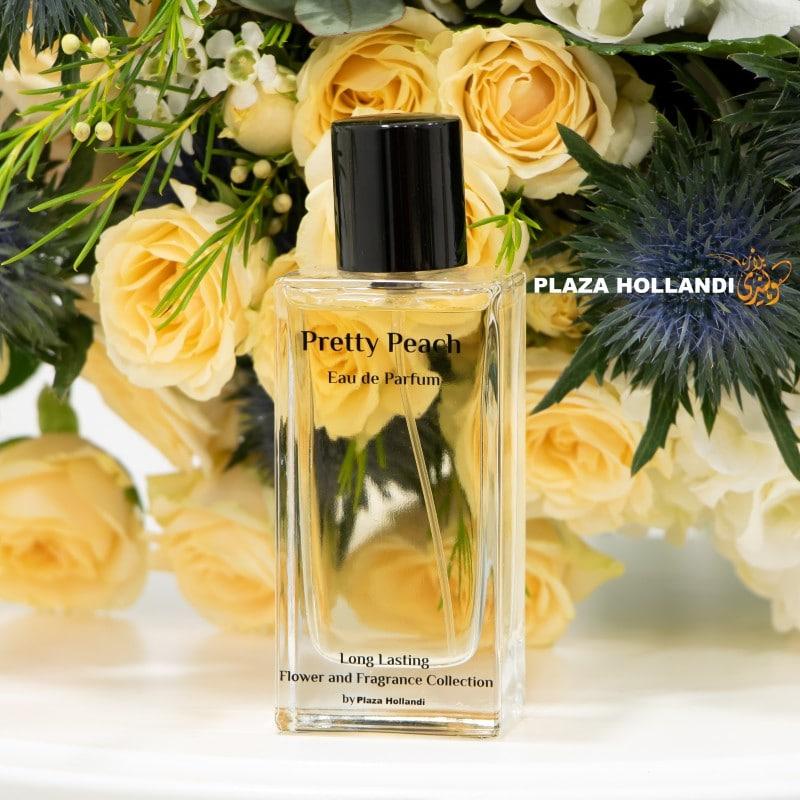 peach roses bouquet pretty peach perfume